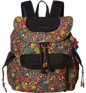 Sakroots Artist Circle Flap Backpack Backpack Bags