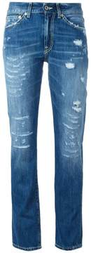 Dondup ripped trim jeans