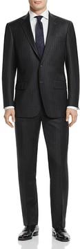 Hart Schaffner Marx Chalk Stripe Basic New York Classic Fit Suit