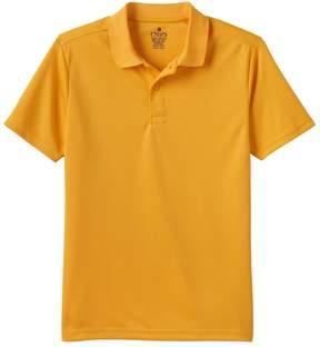 Chaps Boys 4-20 School Uniform Solid Performance Polo