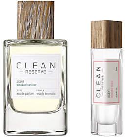 CLEAN Reserve Smoked Vetiver EDP & Pen SprayDuo