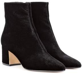 Etro Paisley velvet ankle boots
