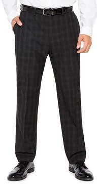 Van Heusen Men's Flex Stretch Flat-Front Hemmed-Leg Woven Suit Pants