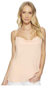 1 STATE 1.STATE Cowl Neck Camisole w/ Draped Back Women's Sleeveless