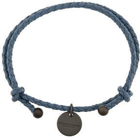 Bottega Veneta intrecciato pendant bracelet
