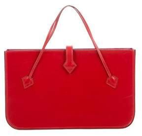 Hermes Box Handle Bag - RED - STYLE