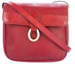 Christian Dior Coated Canvas Shoulder Bag