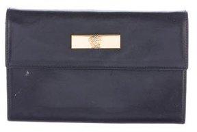 Versace Leather Flap Wallet