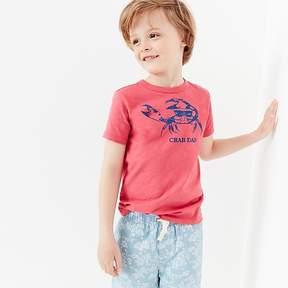 J.Crew Boys' crab dab T-shirt