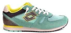 Lotto Leggenda Women's Light Blue Fabric Sneakers.