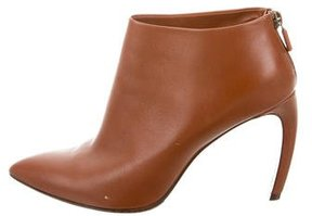 Walter Steiger Leather Pointed-Toe Ankle Boot