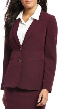 Alex Marie Didi Twill Crepe Suiting Jacket
