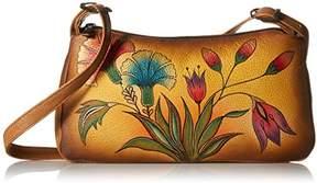 Anuschka Handpainted Leather 8041-TKG East West Shoulder Bag