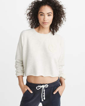 Abercrombie & Fitch Cropped Crew Sweatshirt