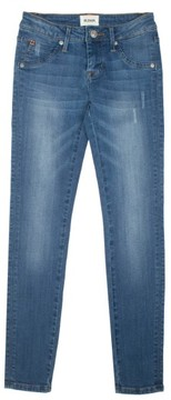 Hudson Girl's Christa Flap Pocket Skinny Jeans