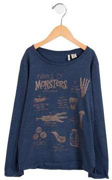 Scotch Shrunk Boys' Long Sleeve Graphic Shirt