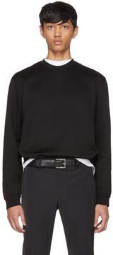 Prada Black Crewneck Sweatshirt