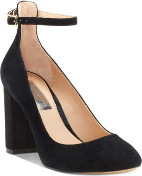 INC International Concepts Gallan Ankle-Strap Pumps, Created for Macy's Women's Shoes