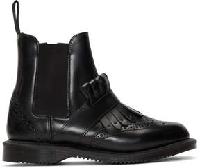 Dr. Martens Black Tina Ankle Boots