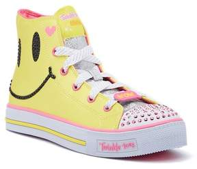 Skechers Shuffles Sparkle Smile Light-Up Hi Top Sneaker (Little Kid & Big Kid)