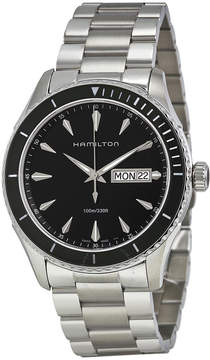 Hamilton Seaview Black Dial Stainless Steel Men's Watch