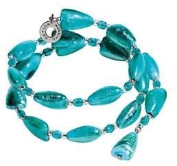 Antica Murrina Veneziana Women's Light Blue Steel Bracelet.