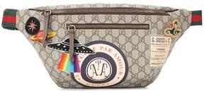 Gucci GG Supreme appliquéd belt bag