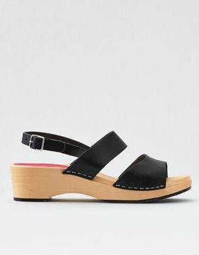 American Eagle Outfitters Swedish Hasbeens Helena Heel