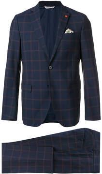 Manuel Ritz plaid two-piece suit