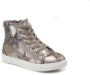 Steve Madden Infamour Youth High-Top Sneaker - Girl's