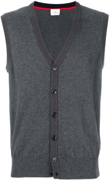 Peuterey v-neck sleeveless cardigan