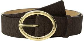 MICHAEL Michael Kors 38mm Logo Belt Women's Belts