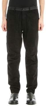 MHI Black Cotton Pants