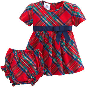 Vineyard Vines Baby Girl Jolly Plaid Dress