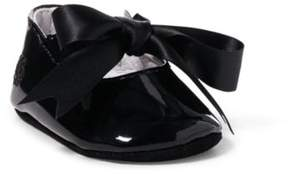 Ralph Lauren Briley Patent Leather Slipper Black 2 (3-6M)