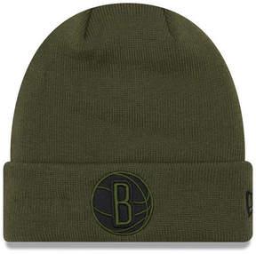 New Era Brooklyn Nets Fall Time Cuff Knit Hat