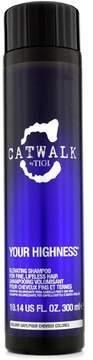 Tigi Catwalk Your Highness Elevating Shampoo - For Fine, Lifeless Hair (New Packaging)
