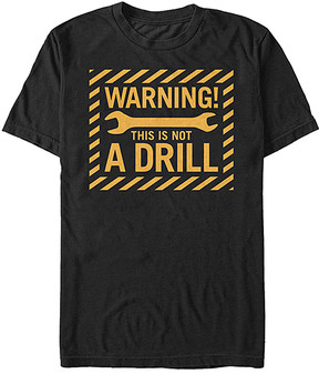 Fifth Sun Black 'This Is Not a Drill' Tee - Men