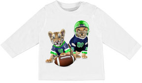 Mayoral Long-Sleeve Animal Football Graphic T-Shirt, Size 6-36 Months