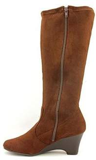 Karen Scott Women's Lena Mid Calf Wedge Boots.