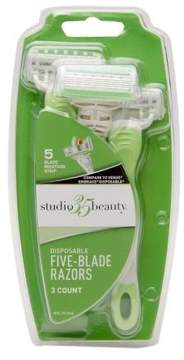 Studio 35 Beauty Disposable Five-Blade Razors
