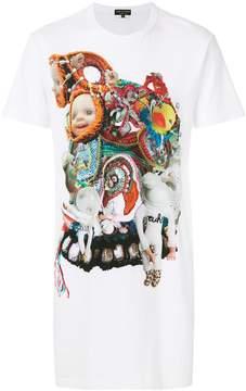 Comme des Garcons printed shortsleeved T-shirt