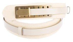 Jil Sander Layered Leather Belt