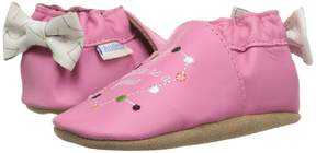Robeez I Want To Be A Genius Soft Sole Girl's Shoes