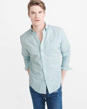 Abercrombie & Fitch Icon Poplin Shirt