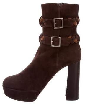 Ritch Erani NYFC Suede Platform Ankle Boots w/ Tags