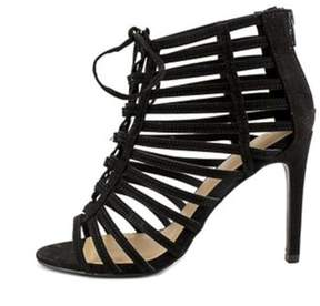 Material Girl Womens Raquel Open Toe Special Occasion Strappy Sandals.
