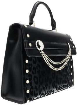 Versace EE1VOBBU1 EM10 Black/Silver Top Handle