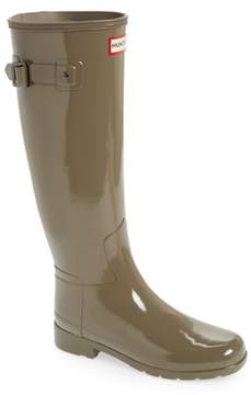Hunter 'Original Refined' High Gloss Rain Boot
