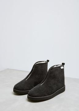 Suicoke Black Ken Zip Boot